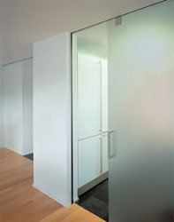 Pr portes coulissantes - Porte coulissante en bois et verre ...