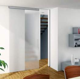 HAWA-Junior 40 \u2013 80/GL (PDF 14 KB) Sliding hardware system for all-glass doors with a continuous slimline profile. & PR sliding doors