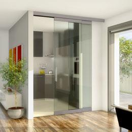 Press - architectural hardware for wood and glass/metal sliding doors & PR sliding doors